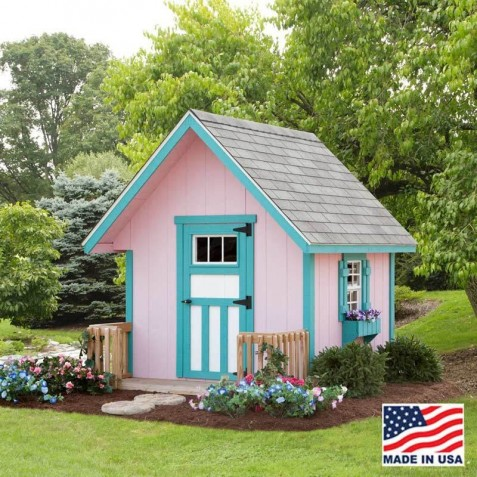 EZ-Fit A-Frame 6' X 6' Playhouse Kit