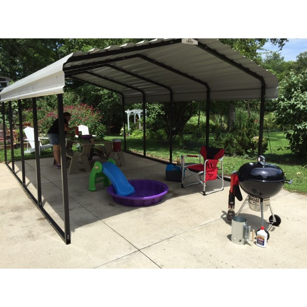 Cool steel carports kits for your home ideas 2018 for Cool carports