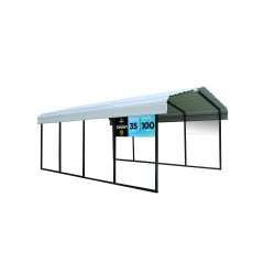 Arrow 12'x20'x7' Steel Carport Kit (CPH122007)