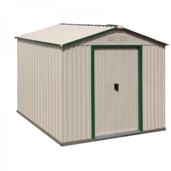 Duramax 10x8 delmar metal storage shed kit w floor kit for 10 x 8 metal shed with floor