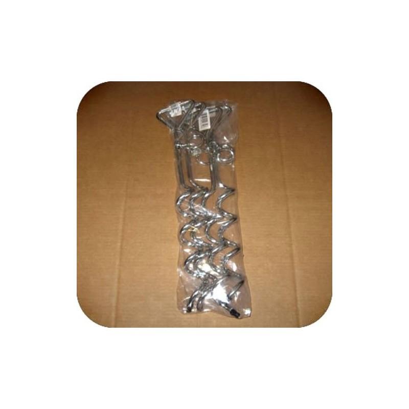 DuraMax Storage Shed Corkscrew Anchor Kit - 4pcs (08781)