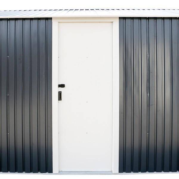 DuraMax 12x20 Gray Metal Storage Garage Building Kit (50951