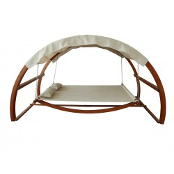 Leisure Season Swing Bed with Canopy (SBWC402)