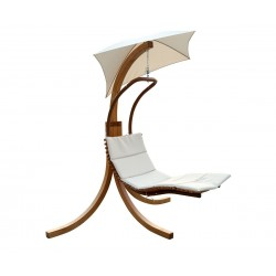 Leisure Season Swing Lounge with Umbrella (SLU135)