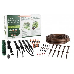 ELGO 2-in-1 Watering Kit - Micro Sprinklers & Dripline Set (ELCOMBO15)