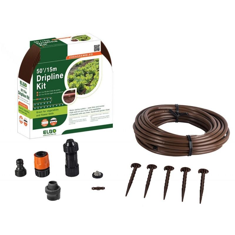 ELGO 50' Drip Line Kit (ELDP15)
