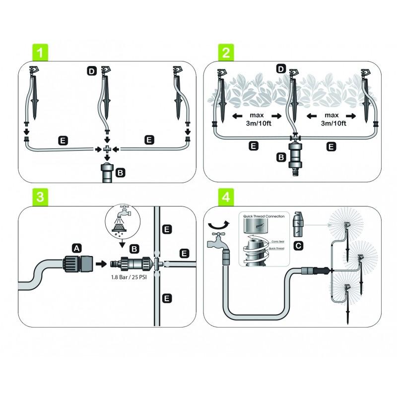 ELGO Micro Sprinkler Kit (ELMS3)