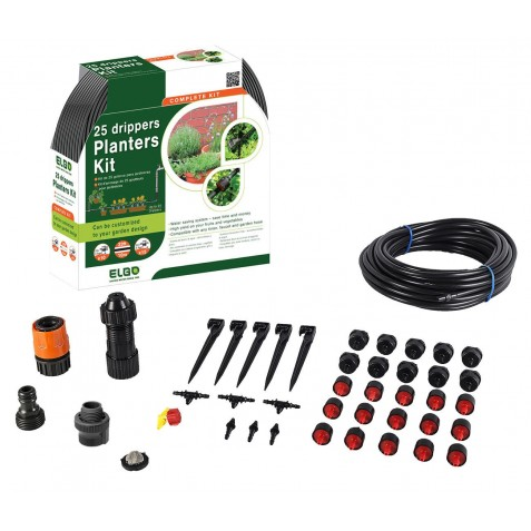ELGO 25 Drippers Planters Kit (ELPD25)