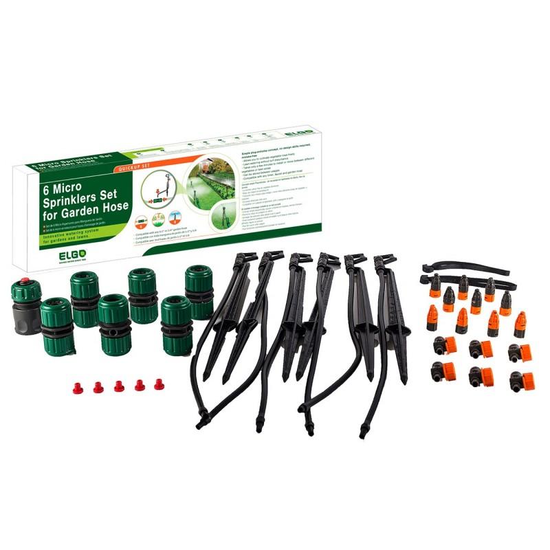 ELGO 6 Micro Sprinklers Set - For Garden Hose (ELSP20)