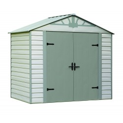Arrow Admiral 8x5 Vinyl Coated Steel Shed Kit (HDVAS85)