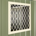 "Globel Window Kit 24""x24"" - Smooth Cream and Mist Green (GL2001)"