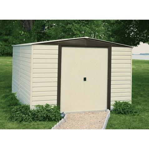 Arrow Vinyl Dallas 10x6 Storage Shed Kit Vd106