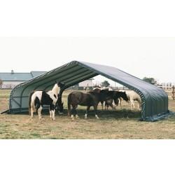 Shelter Logic 22x24x12 Peak Style Shelter Kit - Green (58542)