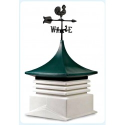 AG-CO Large Plastic Shed Cupola w/ Color & Weathervane Options (320)