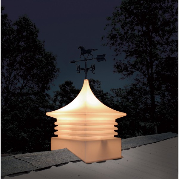 Ag Co Large Plastic Shed Cupola W Color Amp Weathervane