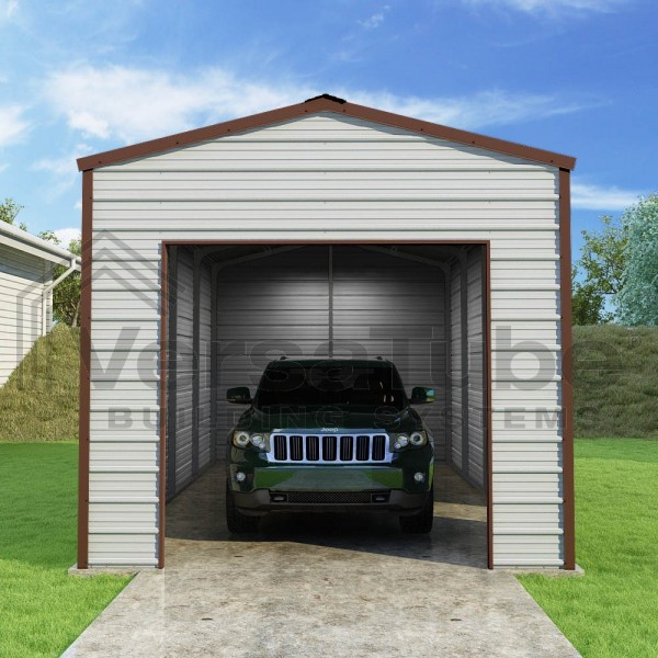 Versatube 12x20x10 Frontier Steel Garage Kit (FBM0122010519)
