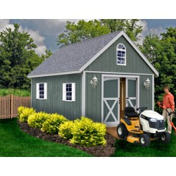 Best Barns Belmont 12x24 Wood Storage Shed Kit (belmont_1224)