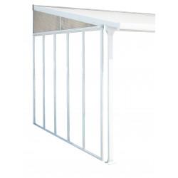 Palram 10' Feria Patio Cover Sidewall Kit Addition - White (HG9005)