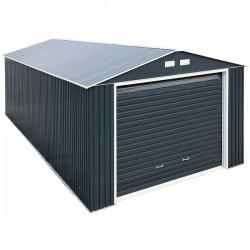 DuraMax 12x32 Imperial Steel Storage Garage Kit - Gray (55251)