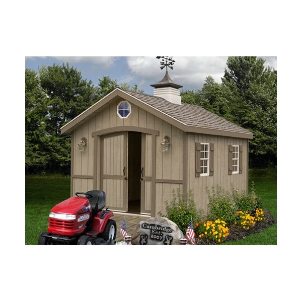 Best Barns Cambridge 10 X 12 Wood Shed Kit All Pre Cut