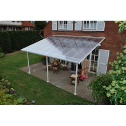 Palram 13x28 Feria Patio Cover Kit - White (HG9228)