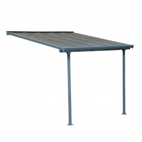 Palram 10x10 Feria Patio Cover Kit - Gray (HG9410)