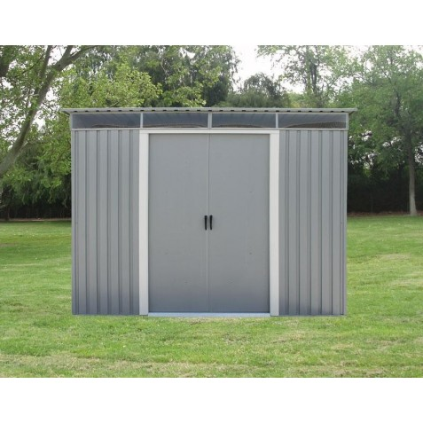 DuraMax 8'x6' Pent Roof Metal Shed Kit w/ Skylights (50371)