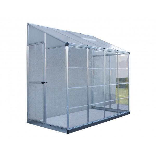 Palram Hybrid Lean To 4x8 Greenhouse Kit Hg5548