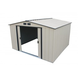 DuraMax 10'x10' Eco Metal Storage Shed Kit (61235)