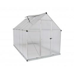 Palram Mythos 6' x 10' Hobby Greenhouse - Silver (HG5010)