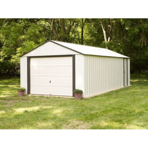 Arrow 12x24 Vinyl Murryhill Steel Garage Kit (VT1224)