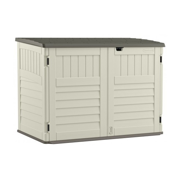 Suncast 70 cu. ft. The Stow-Away Horizontal Shed (BMS4700)