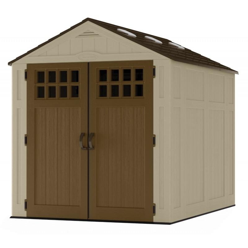 Suncast 6x8 Everett Storage Shed Kit w/ Floor (BMS6810D)