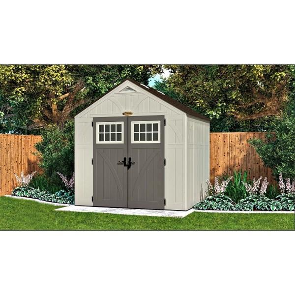 Suncast 8x7 Tremont Storage Shed W Floor Bms8700