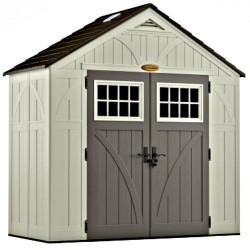 Suncast 8x4 Tremont Storage Shed w/ Floor (BMS8400D)