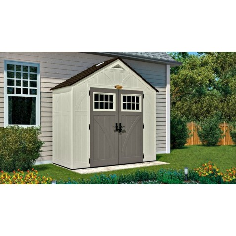 Suncast 2-Pack 8x4 Tremont Storage Shed w/ Floor (BMS8400)
