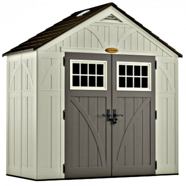 Suncast 2 Pack 8x4 Tremont Storage Shed W Floor Bms8400