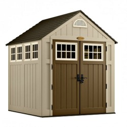 Suncast 2-Pack 7x7 Alpine Storage Shed w/ Floor (BMS7775)