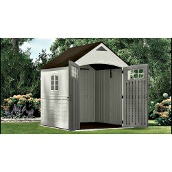 Suncast 2-Pack 7x7 Cascade Storage Shed w/ Floor (BMS7790)
