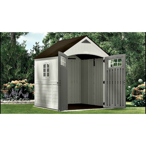 Suncast 2 pack 7x7 cascade storage shed w floor bms7790 for Garden shed 7x7