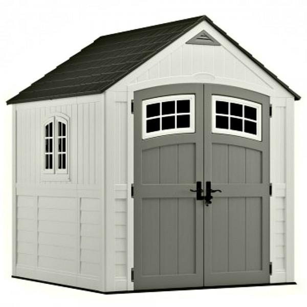 Suncast 7x7 Cascade Storage Shed W Floor Bms7790d
