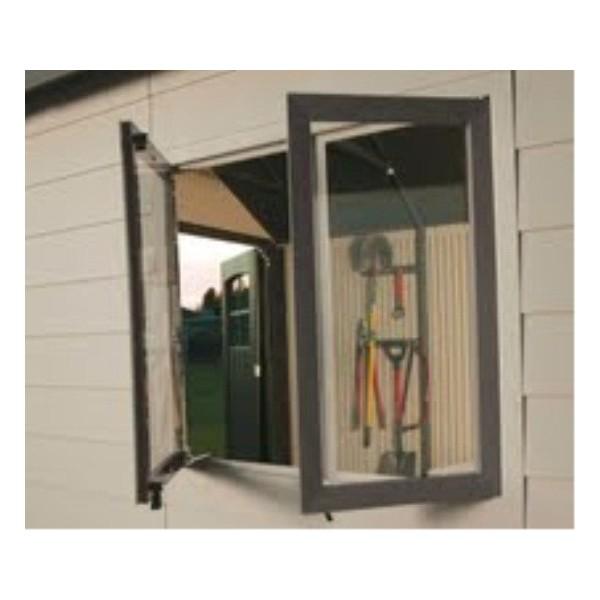 Lifetime 11x21 Storage Garage Kit W 9 Ft Wide Doors 60237