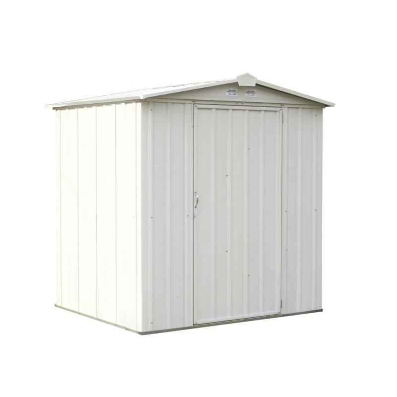 Arrow 6x5 Ezee Storage Shed Kit -  Low Gable, 65 In Walls, Vents - Cream (EZ6565LVCR)