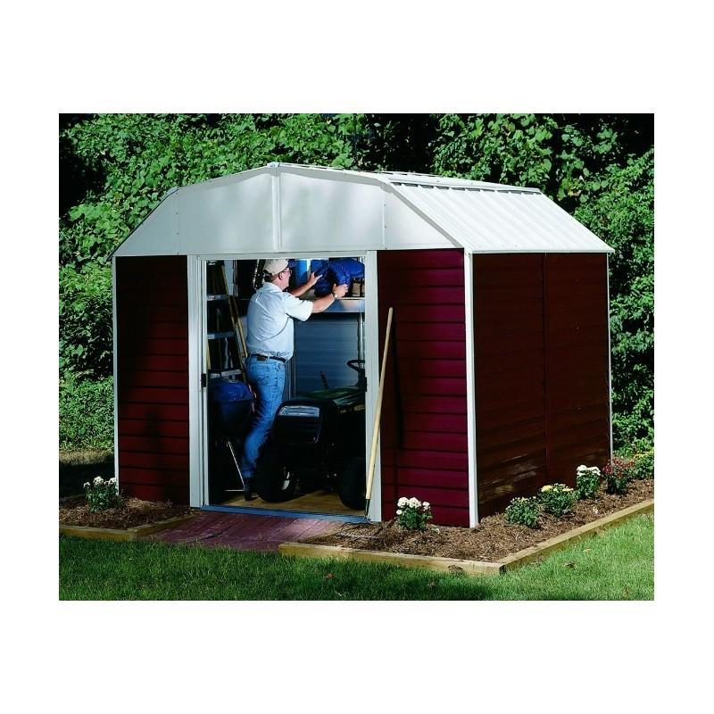 Arrow Red Barn 10x8 Storage Shed Kit (RH108)