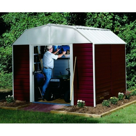 Arrow Red Barn 10x14 Shed Kit (RH1014)