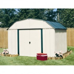 Arrow Vinyl Sheridan 10x14 Storage Shed Kit (VS1014)