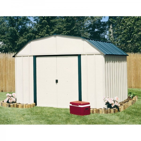 Arrow Vinyl Sheridan 10x14 Storage Shed Kit Vs1014