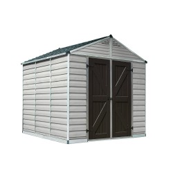 Palram 8x12 Skylight Storage Shed Kit - Tan (HG9812T)