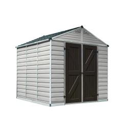 Palram 8x16 Skylight Storage Shed Kit - Tan (HG9816T)