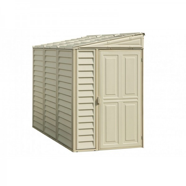 DuraMax 4x8 Sidemate Vinyl Shed With Foundation Kit (06625)